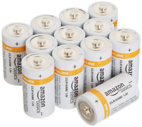 AmazonBasics C Cell Everyday Alkaline Batteries 12-Pack