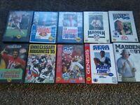 Sega Genesis Game Lot