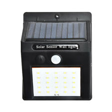 Waterproof 20 Led Solar Power Pir Motion Sensor Wall Light Outdoor Garden Lamp3c