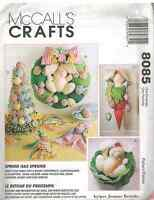 8085 UNCUT McCalls SEWING CRAFT Pattern Spring Centerpiece Egg Tree Bunny Easter
