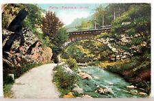 Postkarte 1924 - PARTIE i. RABENAUER GRUND - Sachsen - Weißeritztalbahn