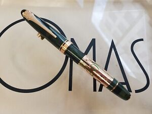 OMAS OGIVA PERRIER JOUET ROSE GOLD TRIM ROLLER BALL PEN  L.EDIT. *NEW CONDITION*