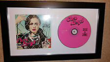 Cher Lloyd Sticks and Stones AUTOGRAPHED FRAMED CD BOOK x factor want u back