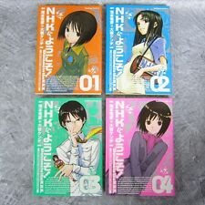 WELCOME TO THE NHK ni Youkoso Comic Set 1-4 KENDI OIWA Book KD*