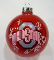 """Ohio State university 2"""" round college Xmas Ornament by Topperscot"""
