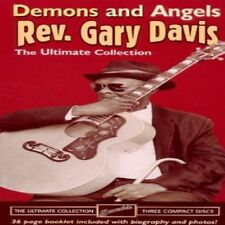 Rev. Gary Davis - Demons & Angels [New CD] Ltd Ed, Boxed Set