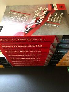 Brand new Cambridge Mathematical Methods Unit 1 and 2 ($80)