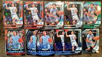 2020-21 Prizm Draft Cole Anthony Rookie Lot (11) - 2 Red Cracked Ice, 2 Silver