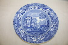 "Antique Blue Italian by SPODE 10 1/2"" Round Fruit Center Bowl England MINT"