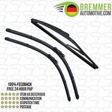 Opel GTC Coupe (2014-->) Wiper Blade Complete Set X3 Front Rear