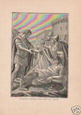 1888= OTTAVIANO e ANTONIO = STAMPA Antica = Old Engraving