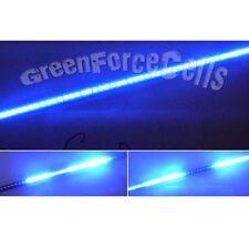56cm 48 LED impermeable flash Coche Knight Rider Tira de Luces SMD 20 MODOS Azul