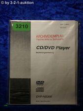 Sony Bedienungsanleitung DVP NS300 CD/DVD Player (#3210)