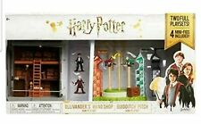 Harry Potter Playsets Ollivander's Wand Shop and Quidditch Pitch Mini new in box