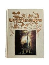 More details for vintage rare walt disney world florida pictorial hardback souvenir book 1989 oop