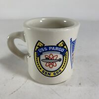 Vintage USS Pargo SSN 650 Chief Petty Officer Coffee Mug Named US Navy USN