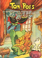 TOM POES EN HET BETOVERDE SCHAAKSPEL EN HET LAND VAN OM - Marten Toonder (1981)