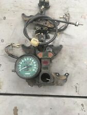 Yamaha Rd400 Speedo Pilot Box And Other Parts