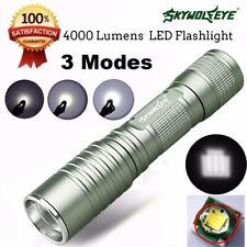 Focus 4000 Lumens 3 Modes XML T6 LED 14500/AA Flashlight Torch Lamp