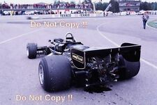 Mario Andretti JPS Lotus 77 Swedish Grand Prix 1976 Photograph 2