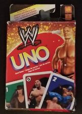 2010 WWE Wrestling UNO Card Game MATTEL RARE