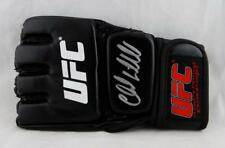 Chuck Liddell Autographed White & Red  UFC Glove- Beckett Authenticated