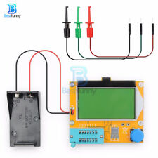 Lcr T4 Lcd Transistor Tester M328 Triode Capacitance Esr Meter Mos Pnp Npn