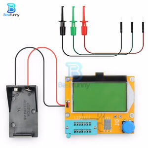 LCR-T4 LCD Transistor Tester M328 Triode Capacitance ESR Meter MOS PNP NPN