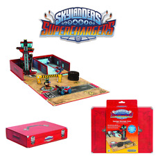 SKYLANDERS SUPERCHARGERS POP-UP GARAGE STORAGE CASE - STORES 20 VEHICLES