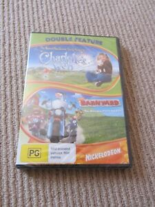 Nickelodeon Double Feature DVD Set - Charlotte's Web and Barnyard - NEW & SEALED