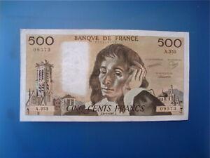 500   FRANCS   PASCAL  1981    A 253