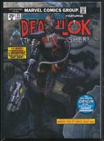 2018 Marvel Masterpieces What If? Trading Card #WI-22 Deathlok /1499