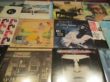 ELTON JOHN YELLOW BRICK CAPTAIN & THE KID BEST OF 14 AUDIOPHILE LP'S +5LP'S+45'S