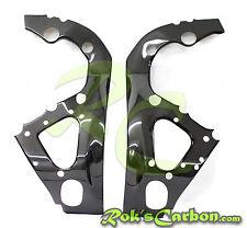 Carbon frame covers Rahmenschoner Suzuki GSX-R1000 2009-