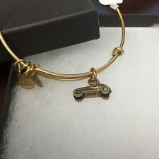 "ALEX AND ANI ""MONOPOLY CAR"" CHARM BRACELET IN RUSSIAN GOLD ! BRAND NEW WITH TAG"