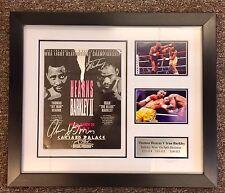 Thomas Hearns VS Iran Barkley 2 Signed And Framed Oficial Fight Night Programme