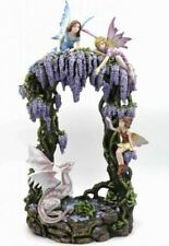 The Land of Fairies and Dragons Large Sculpture Statue Mythical Creatures Figure