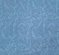 "1 yd 3"" Palette Jinny Beyer for RJR Civil War Era Reproduction Blue Floral Spray"