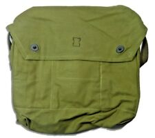 Finnish Army M 61 Gas Mask Canvas Field Bag Hiking Backpacking Mag Military Pack