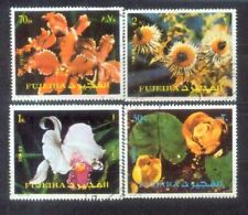 Fujeira Flowers Stamps