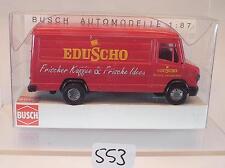 Busch 1/87 Nr. 44319 Mercedes Benz 507 D Kasten Eduscho Kaffee OVP #553