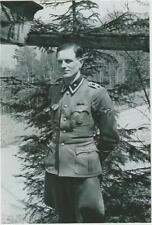 WW2 - Oberscharführer Rochus Misch garde du corps du Chancelier allemand