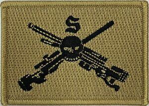 6RAR Sniper Cell Unit Patch on Khaki background