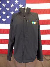 Landway Jacket/Coat Coupons.com  Basic Black Zip Up Wind Resistant Men's Size XL