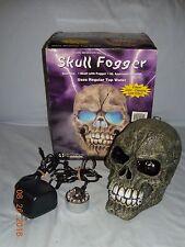 Halloween Color Changing Light Effect Skull Fogger