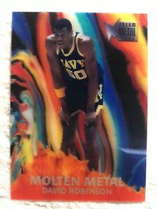 2012-13 Fleer Retro 96-97 Molten Metal #14 David Robinson