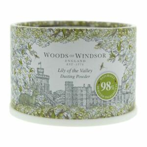 Woods Of Windsor Lily Of The Valley Dusting Powder 100g Women