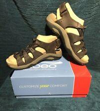 ABEO Men's ANACAPA 9.5 Neutral Leather Sandals