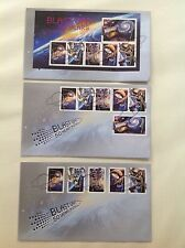 2007 BLAST OFF 50 Years in Space FDC x 3