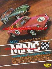 Triang Minic Cars Motor Racing 1966 Large Poster Leaflet Advert Display Sign